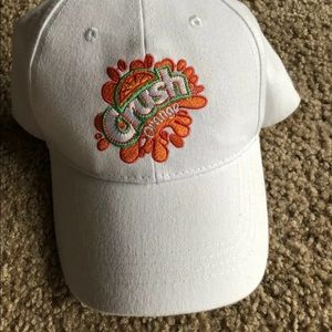 Orange Crush Hat Adjustable New